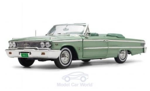 Ford Galaxy 1/18 Sun Star Galaxie 500XL Convertible metallise verte 1963 miniature