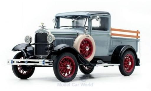 Ford Model A 1/18 Sun Star Pick Up grise/noire 1931