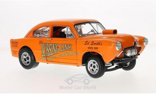 Kaiser Henry J 1/18 Sun Star Gasser orange Missing Link 1951 miniature