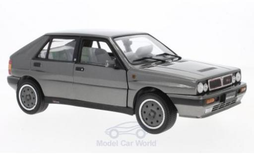 Lancia Delta HF Integrale 1/18 Sun Star 8V metallise grey 1989 diecast model cars