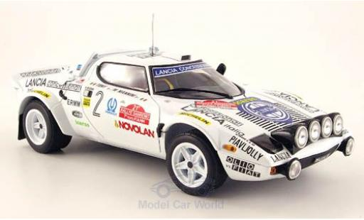Lancia Stratos 1/18 Sun Star HF No.2 Rallye WM Rallye Sanremo 1979 Tony/M.Mannini ohne Vitrine miniature