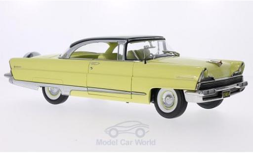 Lincoln Premiere 1/18 Sun Star Hardtop jaune/noire 1956 miniature