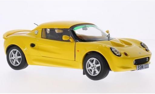Lotus Elise 1/18 Sun Star 111S gelb RHD modellautos