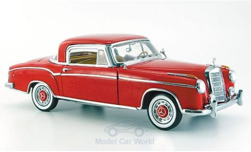 Mercedes 220 1/18 Sun Star SE rouge 1958 ohne Vitrine miniature