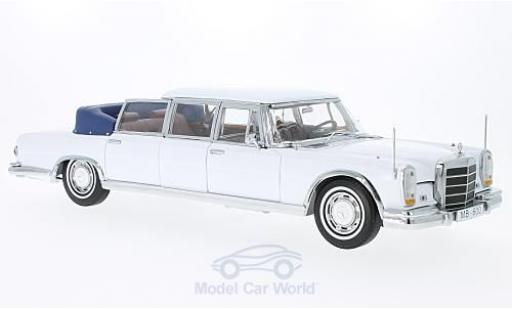 Mercedes 600 1/18 Sun Star Landaulet blanche 1966 miniature