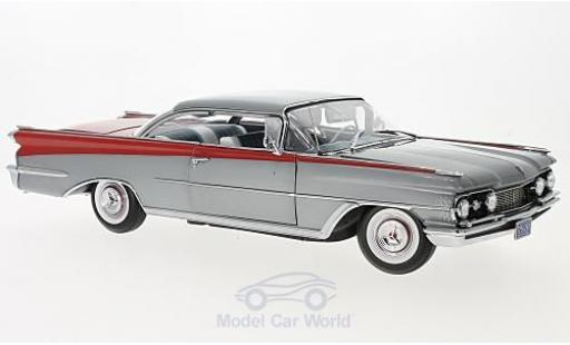 Oldsmobile 98 1/18 Sun Star HardTop metallic-grise/rouge 1959 miniature