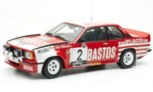 Opel Ascona 1/18 Sun Star B 400 No.2 -Bastos Dealer Team Bastos Lotto Haspengouwrally 1982 y compris les Decals G.Colsoul/A.Lopes miniature