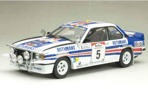 Opel Ascona 1/18 Sun Star B 400 No.5 Rothmans Rallye WM Safari Rally 1982 avec Decals W.Röhrl/C.Geistdörfer miniature