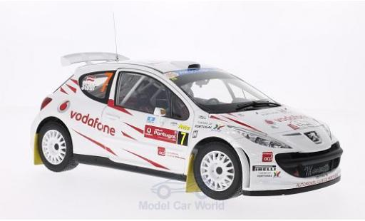 Peugeot 207 S2000 1/18 Sun Star S2000 No.7 Vodafone Rallye Portugal 2008 M.Stohl/I.Minor miniature