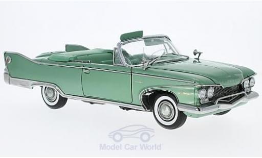 Plymouth Fury 1/18 Sun Star Convertible metallise verte 1960 offen ohne Vitrine miniature