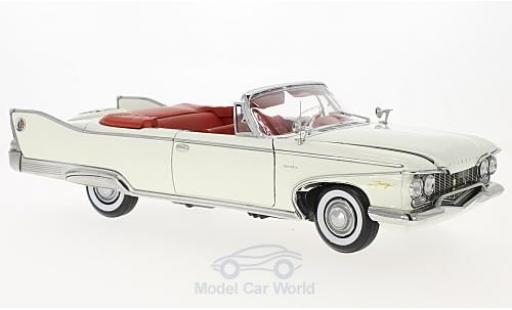 Plymouth Fury 1/18 Sun Star Convertible white 1960 diecast model cars