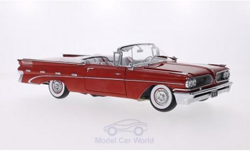 Pontiac Bonneville 1/18 Sun Star Convertible rouge 1959 miniature