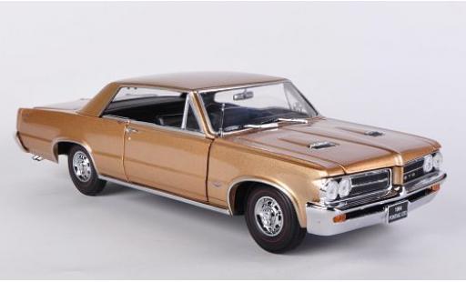Pontiac GTO 1/18 Sun Star gold 1964