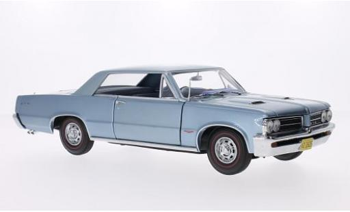 Pontiac GTO 1/18 Sun Star metallise bleue 1964 miniature