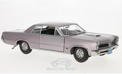 Pontiac GTO 1/18 Sun Star metallic-helllila 1965 diecast