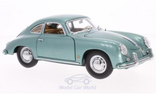 Porsche 356 A 1/18 Sun Star 1500 GS Carrera GT metallise green 1957 diecast model cars