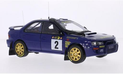 Subaru Impreza 1/18 Sun Star 555 No.2 555 Safari Rallye Kenia 1996 avec Decals K.Eriksson/S.Parmander