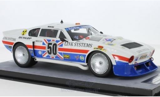 Aston Martin V8 1/18 Tecnomodel RHD No.50 24h Le Mans 1979 R.Hamilton/M.Salmon/D.Preece diecast