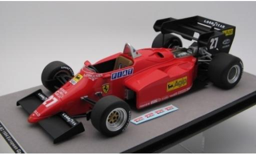 Ferrari 126 1/18 Tecnomodel C4-M2 No.27 Scuderia Formel 1 GP Europa 1984 M.Alboreto miniature