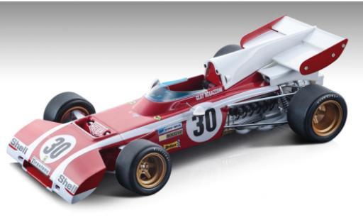Ferrari 312 1/18 Tecnomodel B2 No.30 Formel 1 GP Belgien 1972 C.Regazzoni