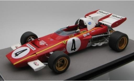 Ferrari 312 1/18 Tecnomodel B2 No.4 Scuderia Formel 1 GP Monaco 1971 J.Ickx coche miniatura