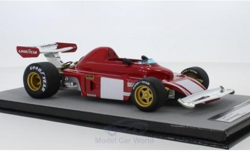 Ferrari 312 1/18 Tecnomodel B3 Scuderia Formel 1 Monza Testfahrzeug C.Regazzoni miniature
