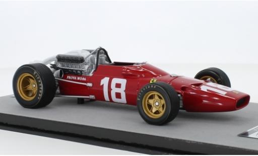 Ferrari 312 1/18 Tecnomodel F1-67 No.18 Scuderia Formel 1 GP Monaco 1967 L.Bandini miniatura