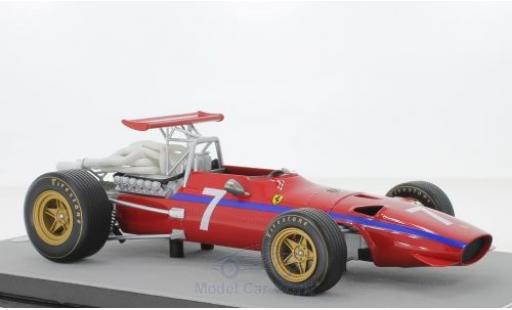 Ferrari 312 1/18 Tecnomodel F1/68 No.7 Scuderia Formel 1 Watkins Glen 1968 D.Bell coche miniatura