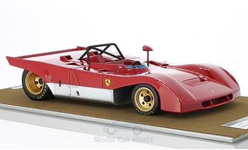 Ferrari 312 PB 1/18 Tecnomodel rojo 1971 Press Version coche miniatura