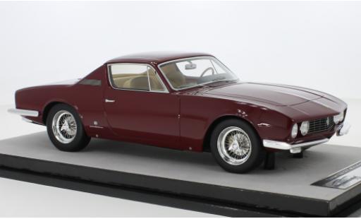 Ferrari 330 1/18 Tecnomodel GTC Michelotti rouge 1967 miniature