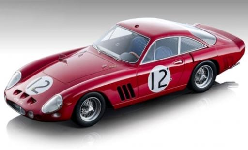 Ferrari 330 1/18 Tecnomodel LMB No.12 Maranello Concessionaires 24h Le Mans 1963 J.Sears/M.Salmon miniature