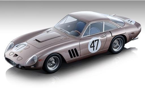 Ferrari 330 1/18 Tecnomodel LMB No.47 Team NART 500km Bridgehampton 1963 D.Gurney miniature