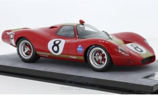 Ford P68 1/18 Tecnomodel RHD No.8 1000 Km Nürburgring 1968 C.Irwin/P.Rodriguez miniature