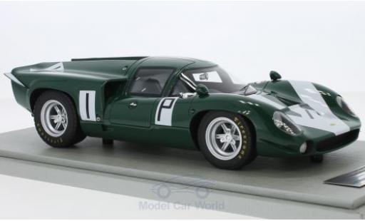 Lola T70 1967 1/18 Tecnomodel MK3 RHD No.1 1000 Km Nürburgring J.Surtees/D.Hobbs coche miniatura
