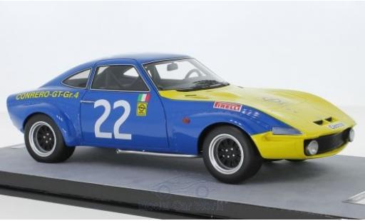 Opel GT 1/18 Tecnomodel 1900 No.22 Squadra Conrero European Championship Monza 1972 A.Rosselli miniature