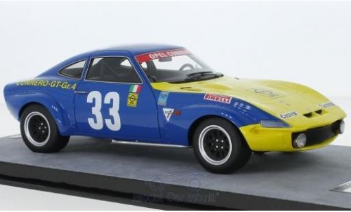 Opel GT 1/18 Tecnomodel 1900 No.33 Squadra Conrero Targa Florio 1972 R.Facetti/M.-C.Beaumont miniature