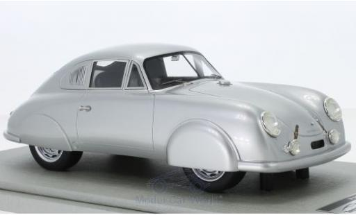 Porsche 356 1/18 Tecnomodel SL grise 1951 Strassenversion miniature
