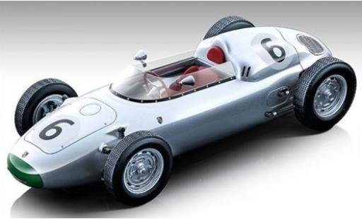 Porsche 718 1/18 Tecnomodel F2 No.6 Formel 2 GP Solitude 1960 G.Hill miniature