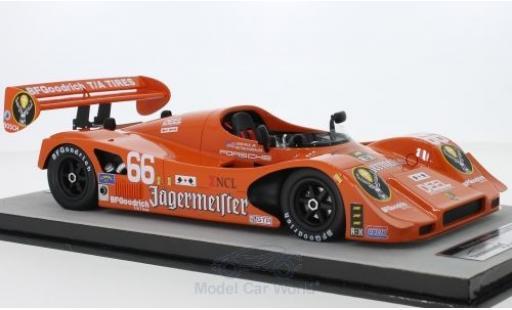 Porsche 966 1/18 Tecnomodel No.66 Jägermeister IMSA GP Miami 1991 J.Paul Jr/V.Gonzales miniature