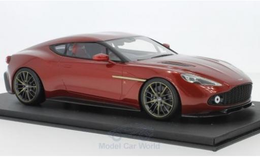 Aston Martin Vanquish 1/18 Top Speed Zagato rouge RHD 2017 miniature