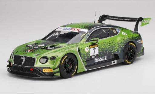 Bentley Continental 1/18 Top Speed GT3 RHD No.7 Team M-Sport Liqui Moly 12h Bathurst 2020 J.Gounon/J.Pepper/M.Soulet diecast model cars