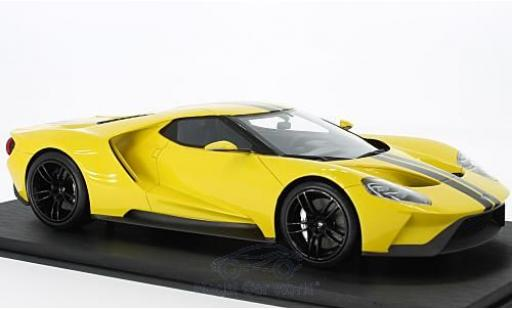 Ford GT 1/18 Top Speed jaune/noire Los Angeles Auto Show 2015 miniature