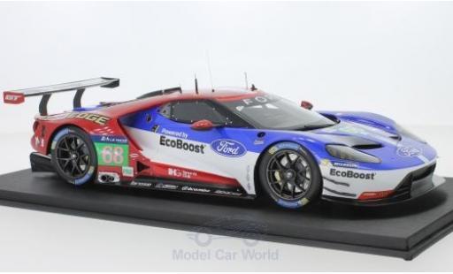 Ford GT 1/18 Top Speed No.68 Chip Ganassi Team USA LME Pro 24h Le Mans J.Hand/D.Müller/S.Bourdais modellautos