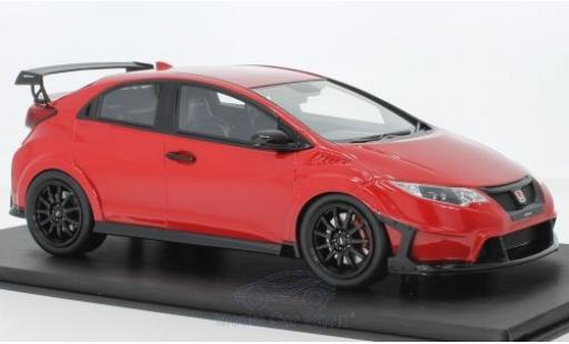 Honda Civic Type R 1/18 Top Speed Type R rojo RHD 2017 miniatura