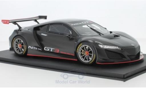 Honda NSX 1/18 Top Speed GT3 matt-grey 2017 Presentation diecast