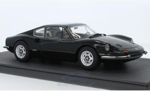 Ferrari Dino 1/18 Topmarques Collectibles 246 GT nero miniatura
