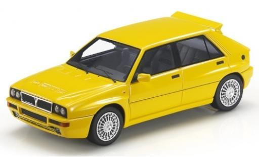 Lancia Delta 1/43 Topmarques Collectibles Integrale Evoluzione jaune miniature