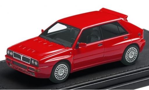 Lancia Delta 1/43 Topmarques Collectibles Integrale Evoluzione rouge miniature