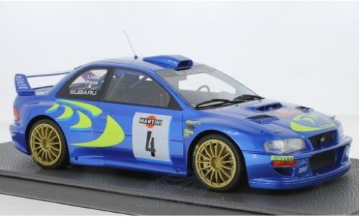 Subaru Impreza 1/18 Topmarques Collectibles S4 WRC No.4 Rallye WM Rallye San Remo 1998 P.Liatti/F.Pons miniature