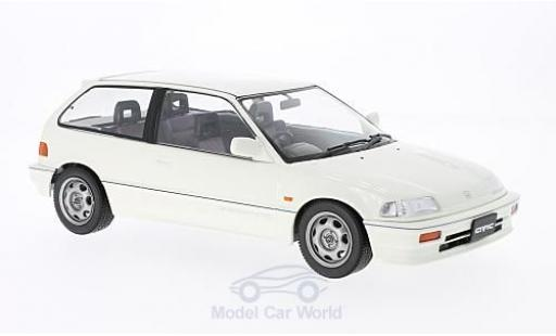 Honda Civic 1/18 Triple 9 Collection EF-3 Si blanche RHD 1987 ohne Vitrine miniature